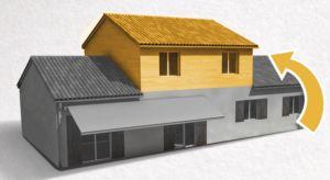 La surélévation pour l'agrandissement de votre maison