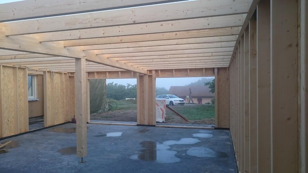 construction d 39 une maison ossature bois paille clonas sur var ze rh ne ossature bois. Black Bedroom Furniture Sets. Home Design Ideas