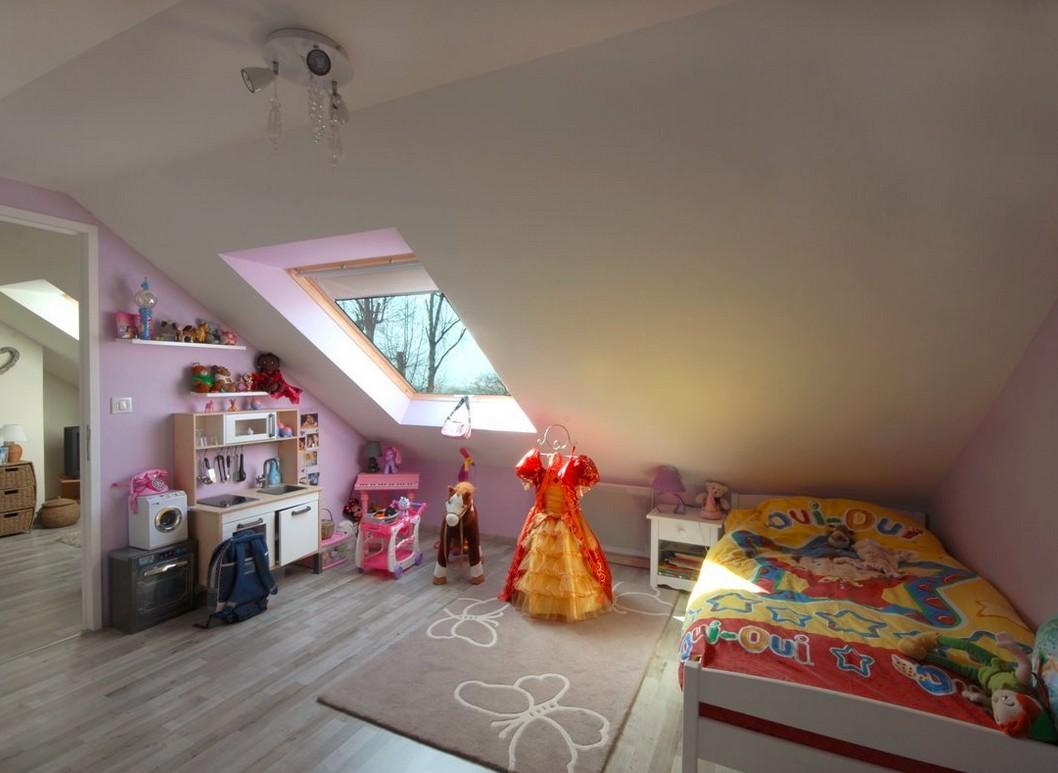 Aménagement de comble-création d\'une chambre d\'enfant ...
